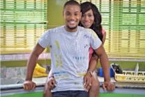 Ebube Nwagbo & Alex Ekubo Share An Intense Kiss