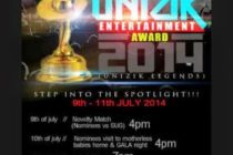 List Of Nominees, UNIZIK Entertainment Awards