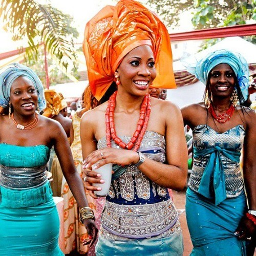 Beautiful photos and colours of Igbo Traditional Marriage