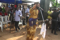 King Eugene De Coque Performing Live At PA. Ngige' Burial